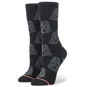 STANCE Star Wars Cozy Darth Vader Black Socks M